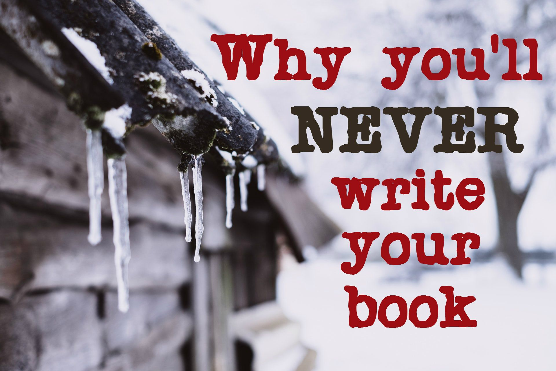 It's a cold day for writers